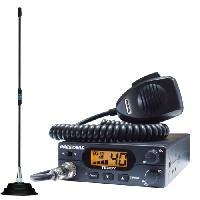 Radiocommunication Pack CB President TXKT266 Teddy et antenne Florida