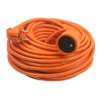 Rallonge Rallonge electrique 10m 2x1.5mm orange