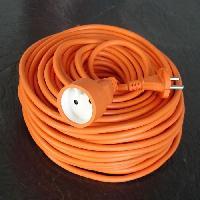 Rallonge Rallonge electrique HO5VVF 2X1.5 orange 50m