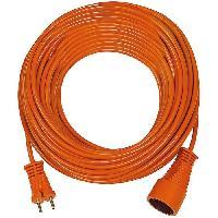 Rallonge Rallonge orange 20m H05VV-F 2x1.5