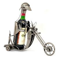 Range Bouteille (non Meuble) - Tapis Range Bouteille Porte bouteille metal Biker