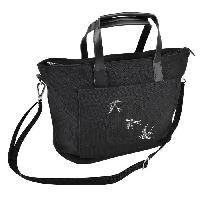 Rangement - Transport STRASS Sac Shopping - 43 x 28 x 12 cm - Doublure Coton Canevas Noir Aucune