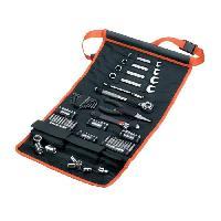 Rangement Outils - Porte-outils BLACK & DECKER Sacoche enroulable avec 76 accessoires de mécanique automobile
