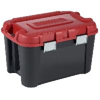 Rangement Outils - Porte-outils KETER - TOTEM 60L. Rangement. Noir - rouge. 59 x 39.5 x 36 cm