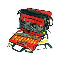 Rangement Outils - Porte-outils Valise a outils avec equipement - 20 pces