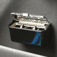 Rangements Cendrier petit modele noir - ADNAuto