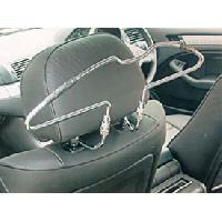 Rangements Cintre chrome pour siege auto - ADNAuto