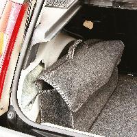 Rangements Sac de rangement compatible avec le coffre - Large - 50x15x25cm