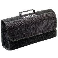 Rangements Sacoche de coffre PSG en moquette scratch noire - 24.5x51x2.5cm Paris Saint Germain
