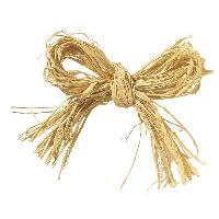 Raphia PANDURO Raphia - Naturel - Pour la decoration de la creche - 50g