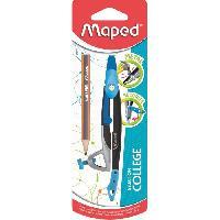 Rapporteur - Compas MAPED Compas Metal Open - Bague universelle