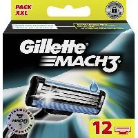 Rasage - Epilation 12 Lames de rasoir Mach3