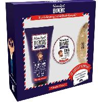 Rasage - Epilation BLONDEPIL HOMME Coffret Gel Nettoyant + Soin a Barbe + Peigne a Barbe