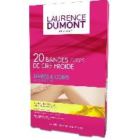 Rasage - Epilation LAURENCE DUMONT INSTITUT   CIRE FROIDE CORPS 20 BANDES - Aucune