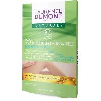 Rasage - Epilation LAURENCE DUMONT INSTITUT  NATURALS  CIRE FROIDE CORPS   20 BANDES - Aucune