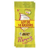 Rasage - Epilation Rasoir Pure 3 Lady femme - lot 16