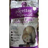 Recettes de Daniel Croquettes Extra Furet 250g Super Premium a la volaille - Low Grain