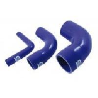Reducteurs Reducteur Coude 90 degres Silicone - D32-28mm - Bleu - SiliconHoses