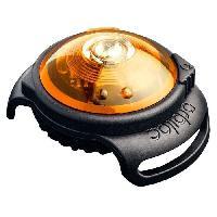 Reflecteur - Lampe Pour Collier Lumiere de securite - Jaune - Pour chien