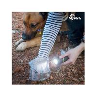 Reflecteur - Lampe Pour Collier MY PET Lampe torche Poop Lantern avec porte-sac ramasse crottes
