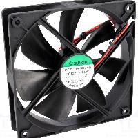 Refroidissement - Ventilation - Watercooling Ventillateur brushless silencieux 12cm DC12V SUNON HAC0251S4 - ADNAuto