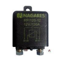 Relais electromagnetiques Relais separateur de batterie automatique 12V 120Ah - FBA