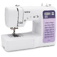 Repassage - Couture BROTHER FS70WTx Machine a coudre électronique - 70 points - Enfile-aiguille - Ecran LCD - Touches de sélection - Bras libre