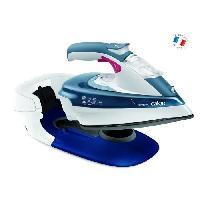 Repassage - Couture CALOR Fer vapeur sans fil Freemove - FV9960C0 - 35 g/min - 250 ml - Blanc/Bleu