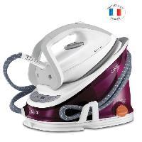 Repassage - Couture CALOR GV6811C0 Centrale Vapeur EFFECTIS ANTI-CALC - Haute pression - 6.3 bars de pression vapeur - 300 g/min - Blanc et rose