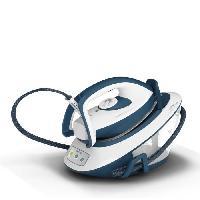 Repassage - Couture CALOR SV7110C0 Express Compact Centrale vapeur. Débit de vapeur continu de 120 g/min. Fonction pressing de 350g/min. Compact. Bleu