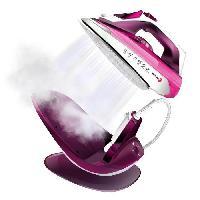 Repassage - Couture FG055 Fer a repasser avec ou sans fil - 2200W - 240 ml - Rose