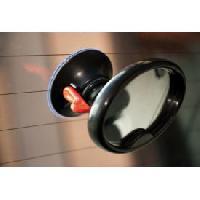 Retroviseur Exterieur Miroir Universel avec ventouse - 52x42 mm Generique