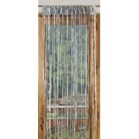 Rideau - Store - Accessoire 1 Rideau a fils paillettes 90x240cm Argent