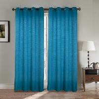Rideau - Store - Accessoire Paire double rideaux 140x260 cm Bleu