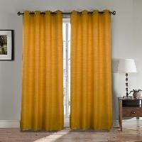 Rideau - Store - Accessoire Paire double rideaux 140x260 cm Orange
