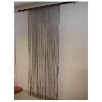Rideau - Store - Accessoire Rideau Brise de Fils Mercerises Anis 90x240cm