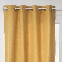 Rideau - Store - Accessoire Rideau Clem - 140 x 260 cm - Jaune Ocre