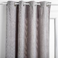 Rideau - Store - Accessoire Rideau Cotelé - 140 x 260 cm - Gris clair