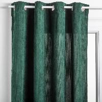 Rideau - Store - Accessoire Rideau Cotelé - 140 x 260 cm - Vert cedre