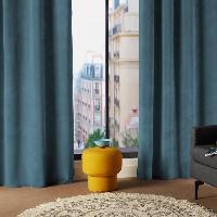 Rideau - Store - Accessoire Rideau Lilou - 140x260 cm - Bleu