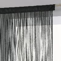 Rideau - Store - Accessoire Rideau fil - 120 x 240 cm - Noir