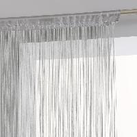 Rideau - Store - Accessoire Rideau fil - 90 x 200 cm - Gris
