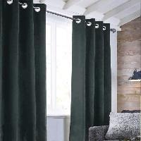 Rideau - Store - Accessoire Rideau sueden 100% Polyester - Gris carbone - 140x250 cm Aucune