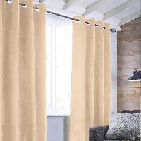 Rideau - Store - Accessoire Rideau sueden 100% Polyester - Rose nude - 140x250 cm Aucune