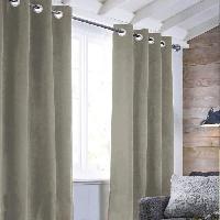Rideau - Store - Accessoire Rideau sueden 100% Polyester - Taupe - 140x250 cm Aucune