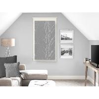 Rideau - Store - Accessoire SOLEIL D'OCRE Brise bise Liane 45x90 cm - Gris - Soleil D Ocre