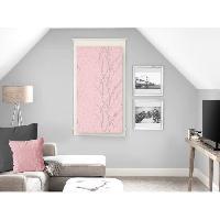 Rideau - Store - Accessoire SOLEIL D'OCRE Brise bise Liane 45x90 cm - Rose - Soleil D Ocre