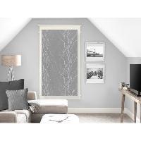 Rideau - Store - Accessoire SOLEIL D'OCRE Brise bise Liane 60x120 cm - Gris - Soleil D Ocre
