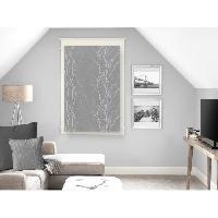 Rideau - Store - Accessoire SOLEIL D'OCRE Brise bise Liane 60x90 cm - Gris - Soleil D Ocre