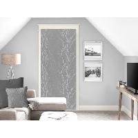 Rideau - Store - Accessoire SOLEIL D'OCRE Brise bise Liane 70x200 cm - Gris - Soleil D Ocre